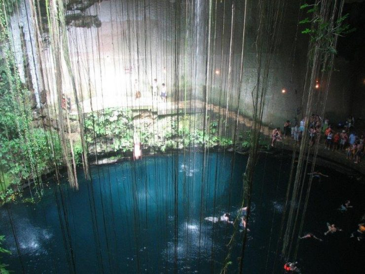 Cenote Caves in Yucatan Pennisula