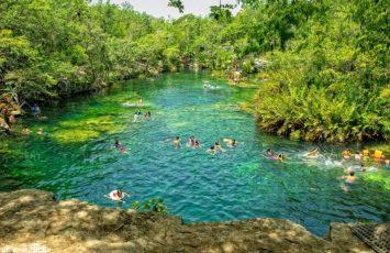 Cenote Jardín del Edén, Playa Del Carmen, Yucatan, Mexico