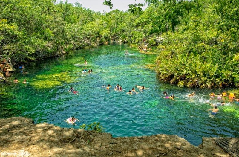 Cenote Jardín del Edén, Playa Del Carmen, Yucatan, Mexico | Best Cenotes in Mexico