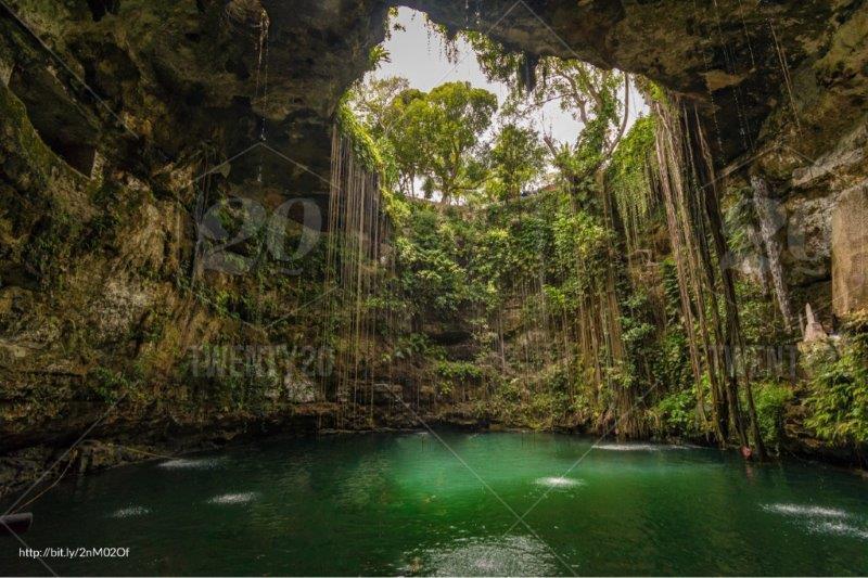 Ik Kil Cenote Chichen Itza | Best Cenotes in Mexico