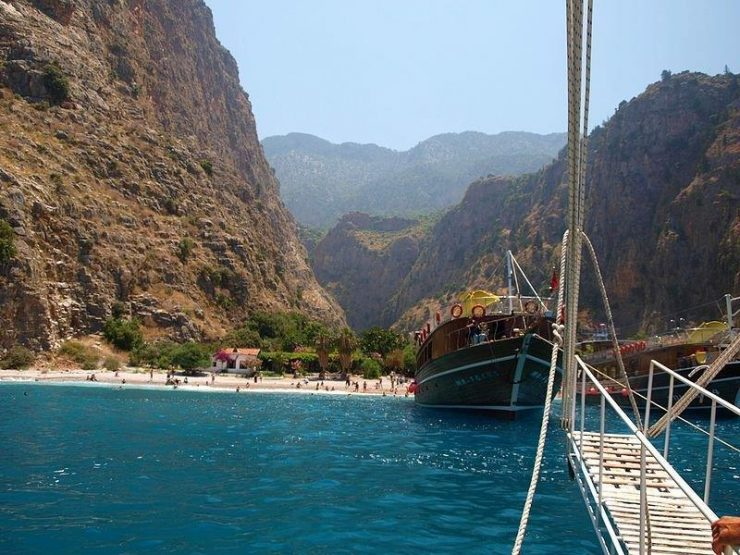 Butterfly Valley Ferry   | Butterfly Valley in Fethiye district in the Muğla Province of Turkey