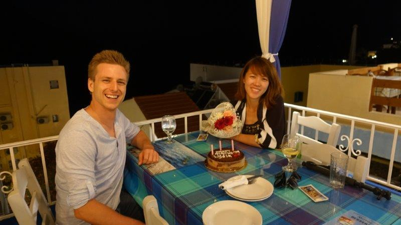 Birthday celebrations on Kalymnos