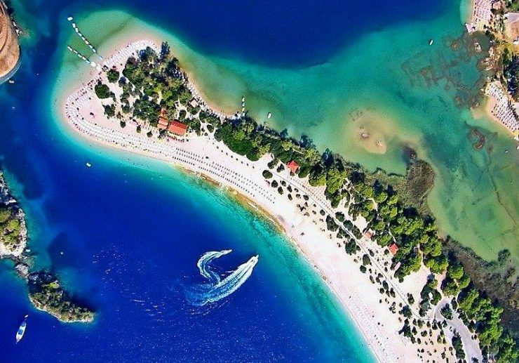 Oludeniz on the Turquoise Coast | Butterfly Valley in Fethiye district in the Muğla Province of Turkey