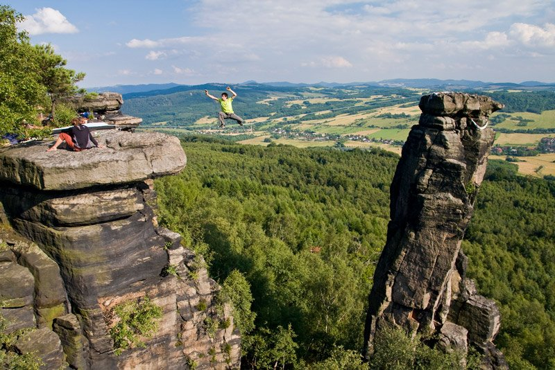 Stone Giants and Sand Stones- Trad Rock Climbing in Bohemian Switzerland