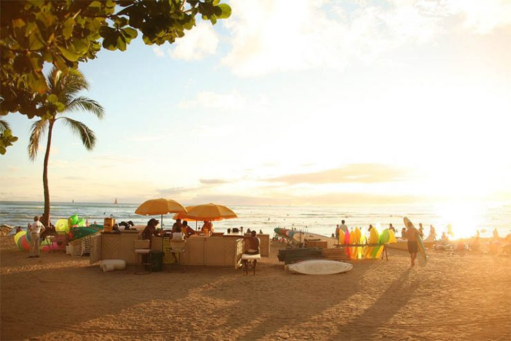 Beach life in Hawaii | Top Hen Parties Holiday Destinations