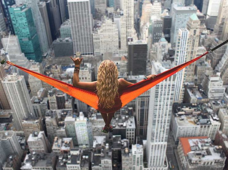 Breathtaking view over New York | Hen Party Top Destinations