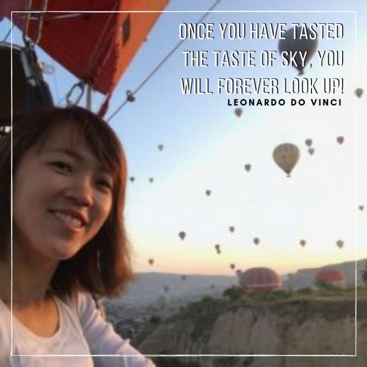 Hot Air Balloon Turkey Experience | Vacation Sayings and Quotes