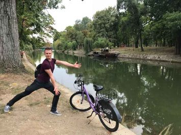 Biking in Timisoara
