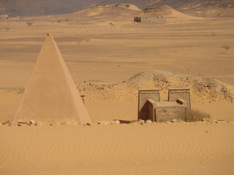 Pharaoh pyramids in Sudan