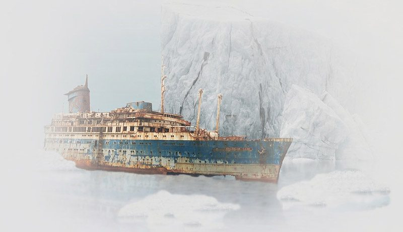 See the Titanic wreck up close