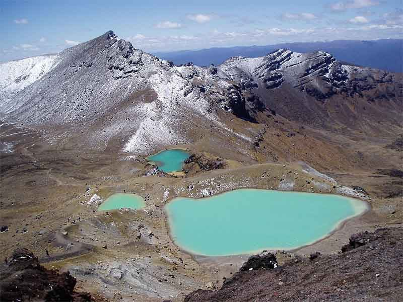Tongariro Cross, New Zealand