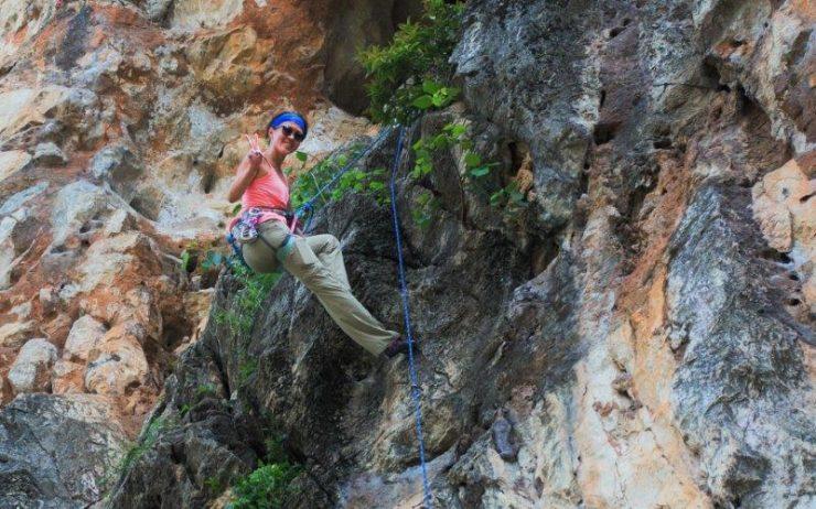 Batu Caves Kuala Lumpur Rock Climbing Lead Climbing