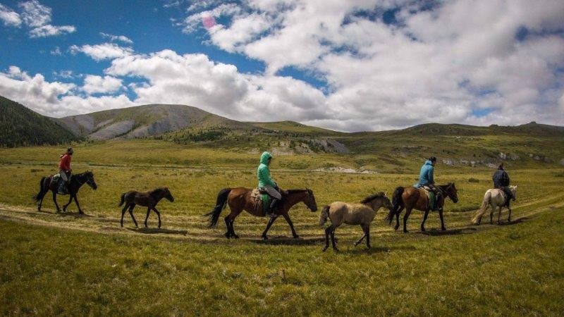 travel by horseback in Wales