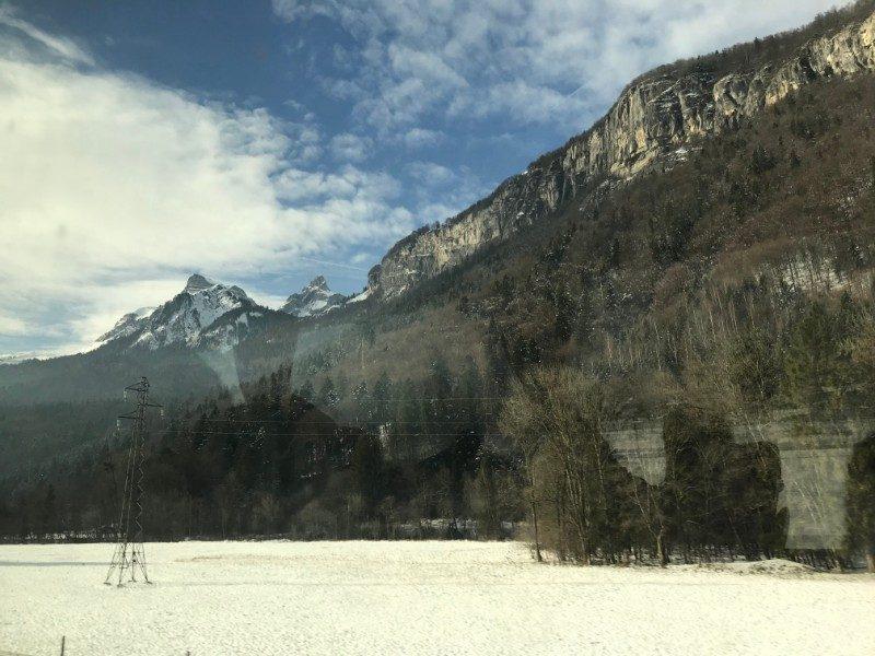 Chamonix Valley Mont Blanc scenery multi-pitch climbing France