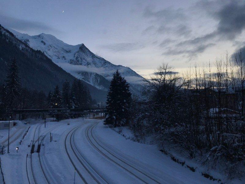 Chamonix Mont Blanc multi-pitch climbing commune France