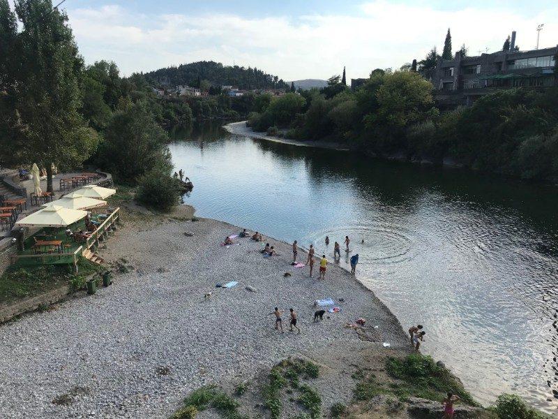 Montenegro Padgorica swimming rock climbing