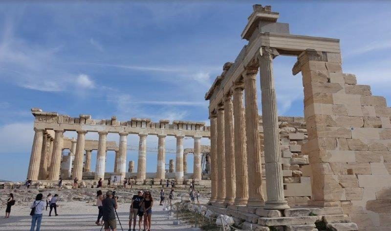 The iconic sights of Athens