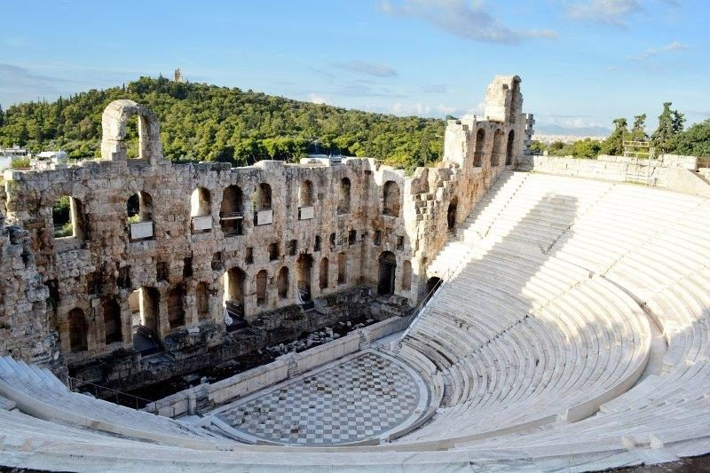 One of Athens Ancient Theaters | Sights in Athens
