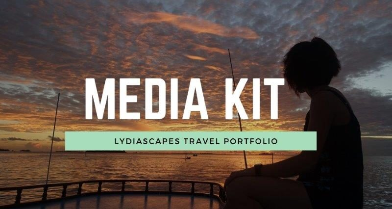 Lydiascapes Travel Media Kit and Portfolio