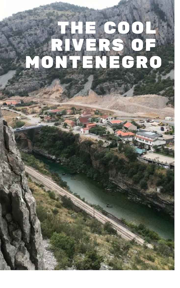 Rock Climbing the Mountains of Podgorica in Montenegro