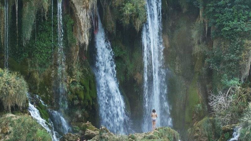Witnessing and beholding the Kravica Waterfall