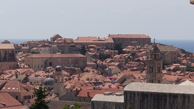 Stunning overview of the captivating city of Dubrovnik