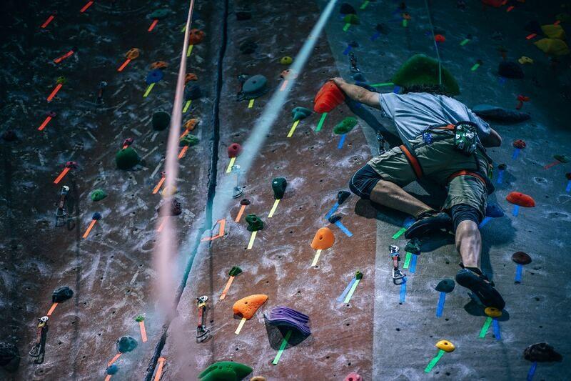 Rock climbing bali