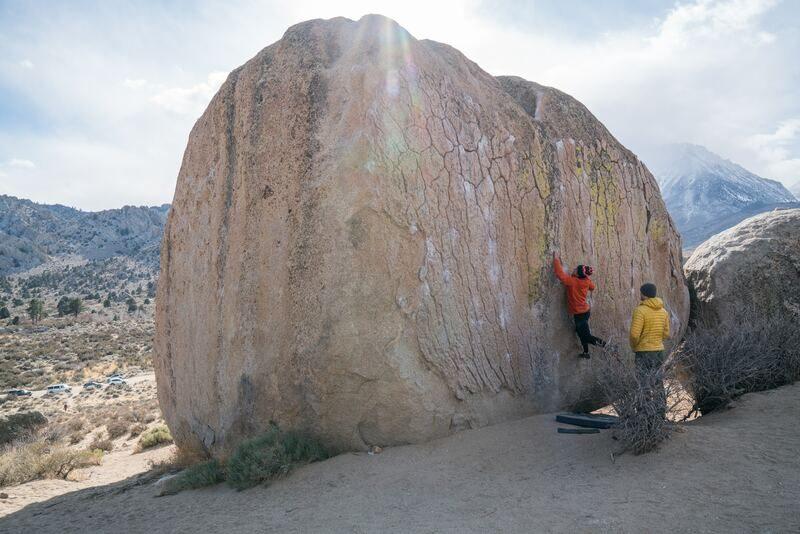 Rock climbing equipment climbing shoes