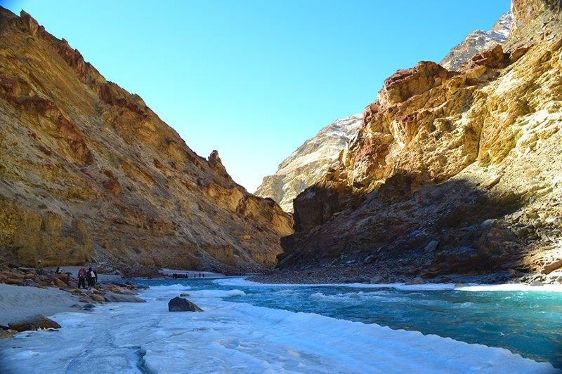 Trekking the Chadar Frozen River in Ladakh