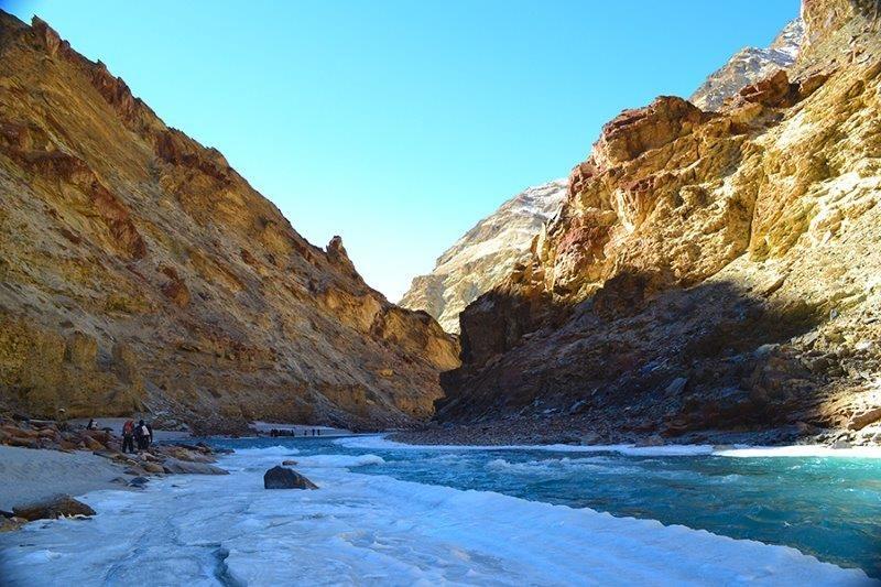Trekking the Chadar Frozen River in Ladakh