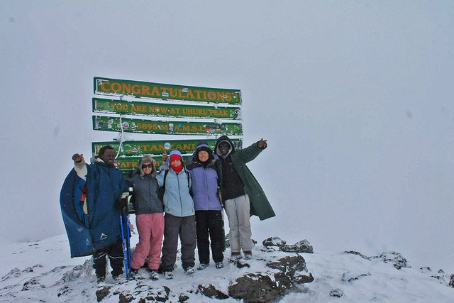 Hiking Mount Kilimanjaro in Triumphant