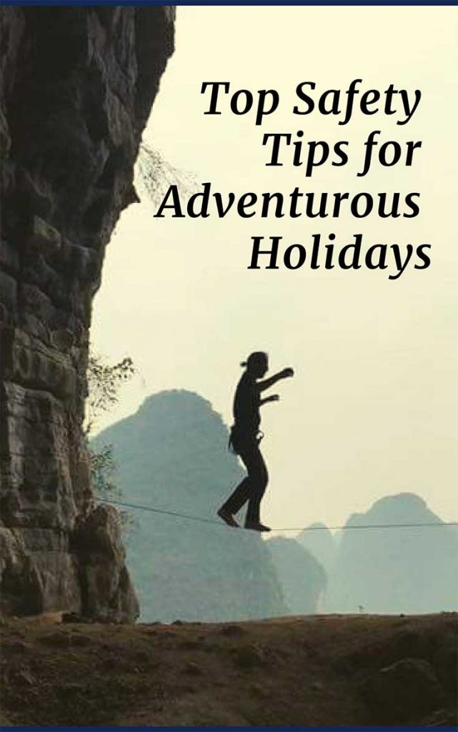 Going on an adventurous trip & unsure what to prepare? Here's a check list of what is critical for your peace of mind as you Dive, Ski, Trek, Climb & Fly!