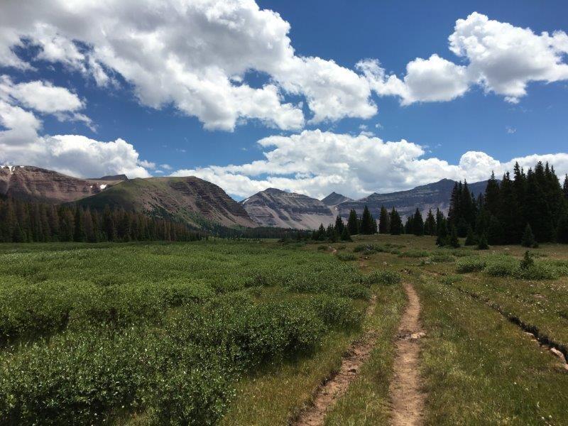 Lost and stranded overnight alone on King's Peak Utah
