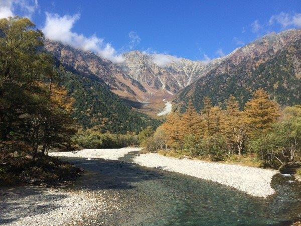 Kamikochi National Park in the Japanese Alps
