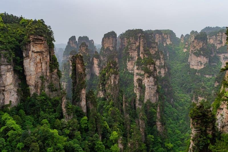 Best day hikes in Asia - Zhangjiajie National Forest Park in China