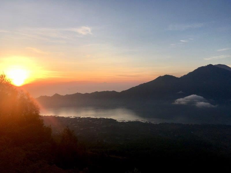 Mount Batur at Sunrise in Bali