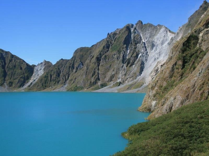 Mt Pinatubo in Philipppines