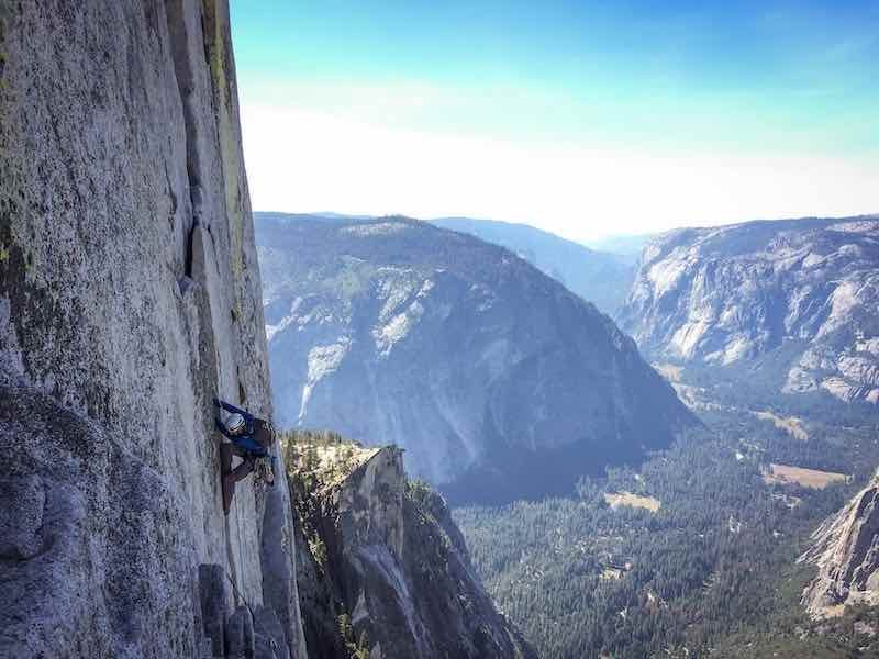 outdoor rock climbing brings along with it spectacular views and memories