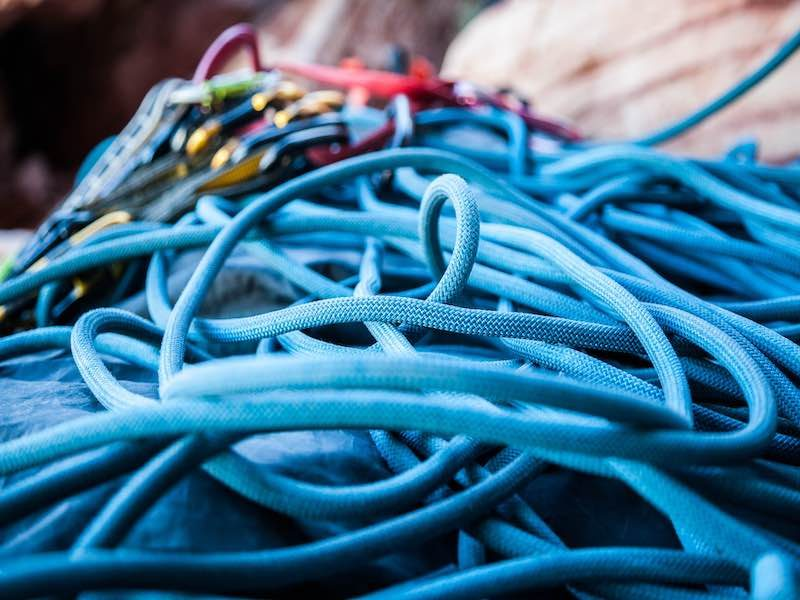 managing your rope and preparing it for outdoor use