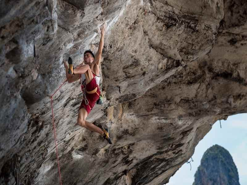 set goals and projects for outdoor rock climbing
