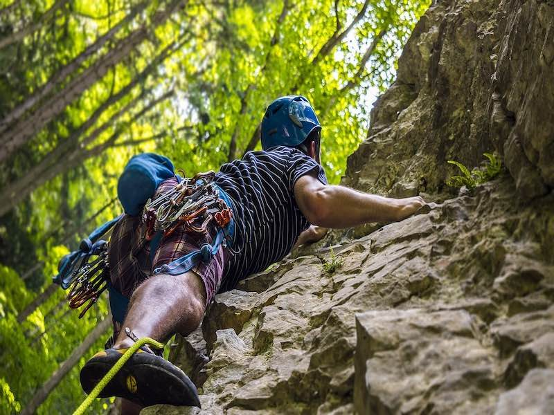 Can you lose weight from rock climbing