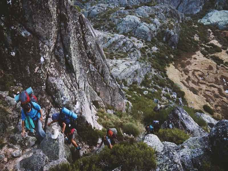 have a climbing buddy you can rely on and trust when outdoors