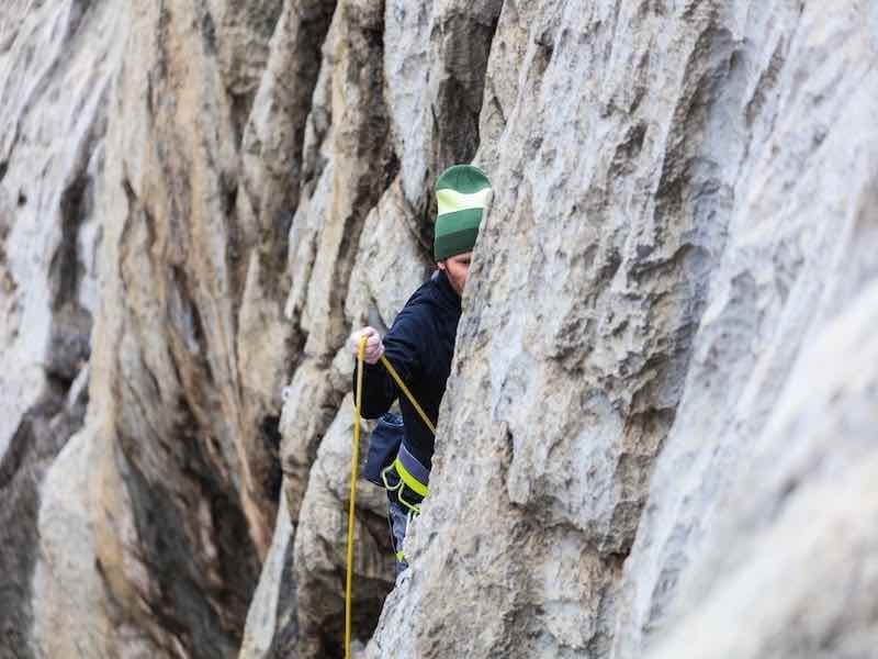 outdoor rock climbing requires a lot more clothing preparation in the event of change of weather