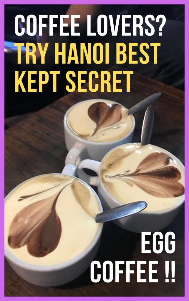 Egg coffee best tiramisu in a cup drink in the world only in hanoi vietnam