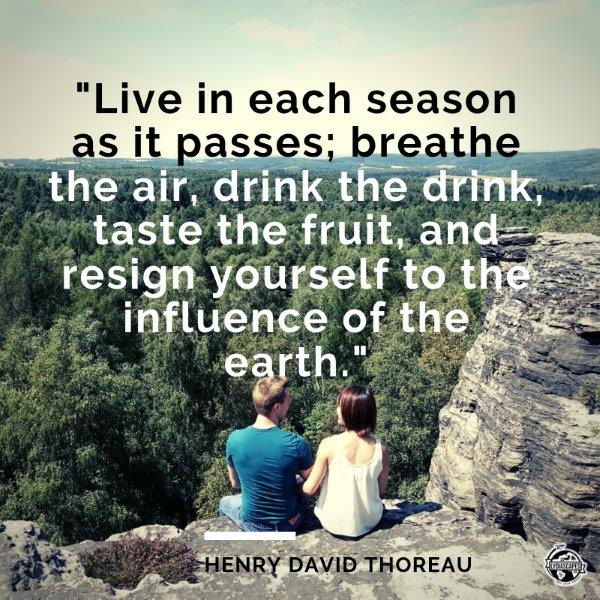 Lydiascapes Top 30 Favourite Holiday and I need a vacation Quote #18 - Henry David Thoreau  Photo taken at Czech Republic