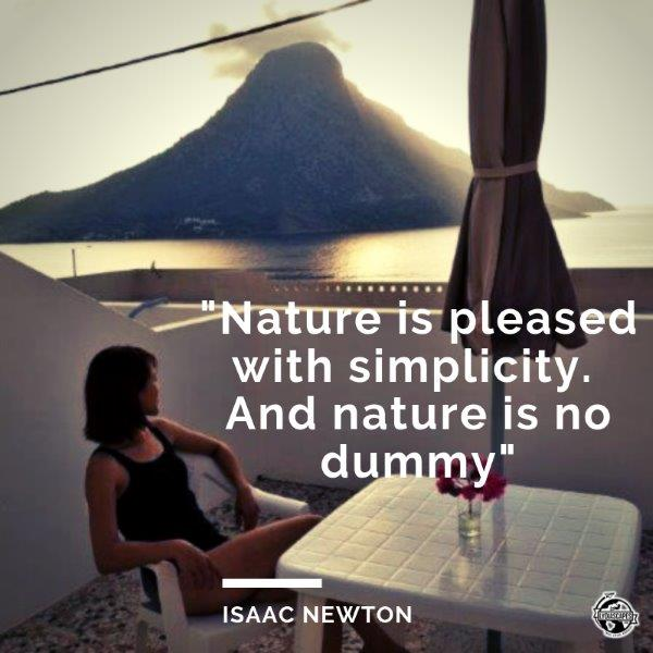 Lydiascapes Quotes about vacation#17 ― Isaac Newton photo taken in Greece Kalymnos