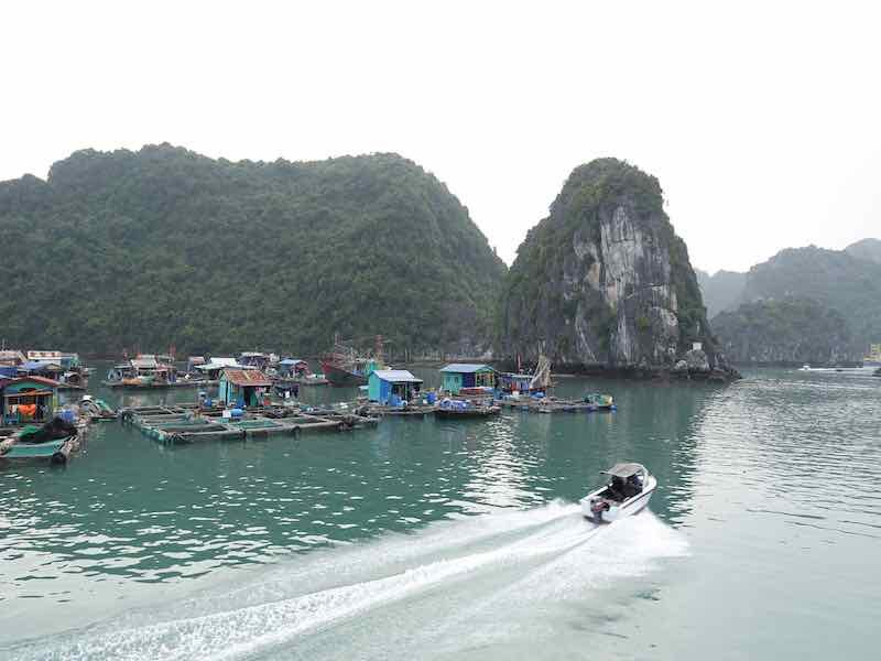 Vietnam is teeming with gorgeous rivers and bays.