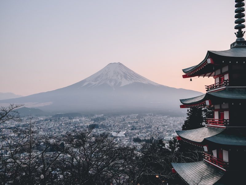 Japan's famous Mt. Fuji isn't the only place for climbing in Japan.
