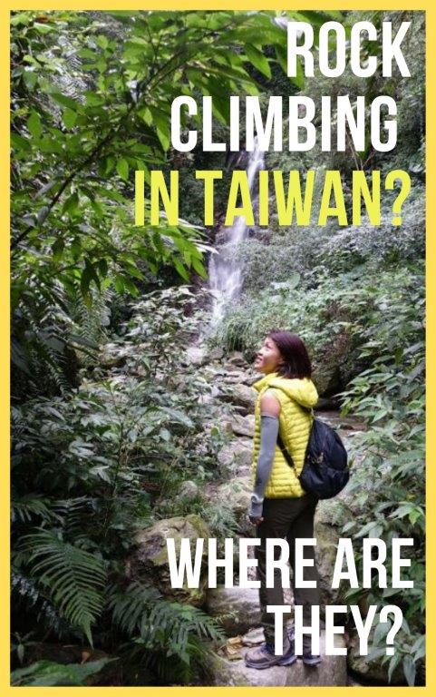 taiwan rock climbing best spots