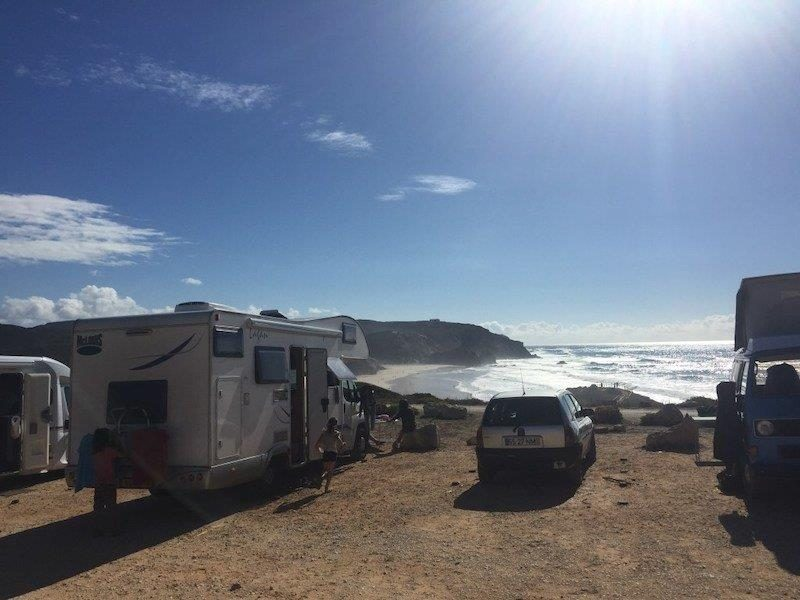 Campervaning experience at Algarve Coast in Portugal